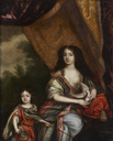 Duchess of Portsmouth and son attributed to Henri Gascar (auctioned by Tajan)