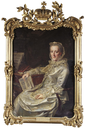Duchess Philippine Charlotte, wife of Duke Karl I after Johann Georg Ziesenis (auctioned by Sotheby's)