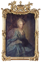 Duchess Philippine Charlotte, wife of Duke Karl I by studio of Anna Rosina von Lisiewska (auctioned by Sotheby's)