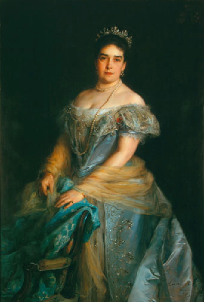 1899 Duchess Ratibor by Philip Alexius de Laszlo (private collection)