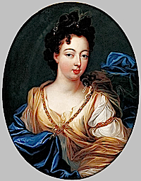 Duchess of Modena by Pierre Gobert (private collection)
