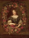 Duchesse de la Valliere in floral wreath by ? (location unknown to gogm)