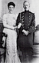 1901 Olga Alexandrovna and her first husband, Peter of Oldenburg, engagement photo
