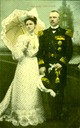 Dutch Royal Couple post card