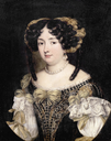 Eleonora Boncompagni Borghese, half-length, in an embroidered dress by Jacob Ferdinand Voet studio (auctioned by Bonhams)