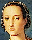 1550 Eleonora de Toledo by Bronzino (Uffizi) headress