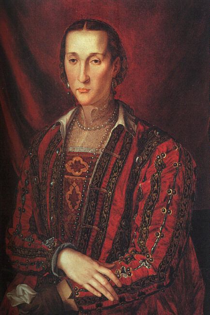 1560 Eleonora de Toledo by Bronzino (National Gallery of Art, Washington USA)