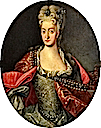 Elisabeth Christine of Brunswick-Wolfenbüttel, Queen of Germany and Holy Roman Empress (1691-1750) by Johann Gottfried Auerbach (location unknown to gogm)