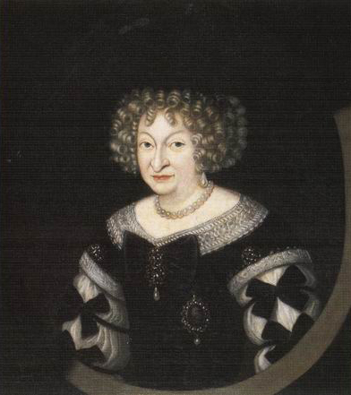 Elisabeth Sophie of Saxony (1619-1680) by ? (location unknown to gogm) From royaltyguide.nl:families:wettin:saxonyernst2