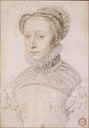 1559 Elisabeth de France by François Clouet (location unknown to gogm)