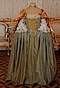 Dress worn by Empress Elizabeth (Catherine Palace - Pushkin Russia)