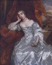 ca. 1662 Elizabeth Capell Countess of Carnarvon by Sir Peter Lely (auctioned by Sotheby's)