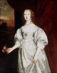 Elizabeth Cecil, Countess of Berkshire by Sir Anthonis van Dyck (Burghley House - Stamford, Lincolnshire, UK) From lisby3's photostream on flickr reduced exposure