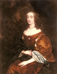 Elizabeth, Countess-of Cork by Sir Peter Lely (private-collection) b
