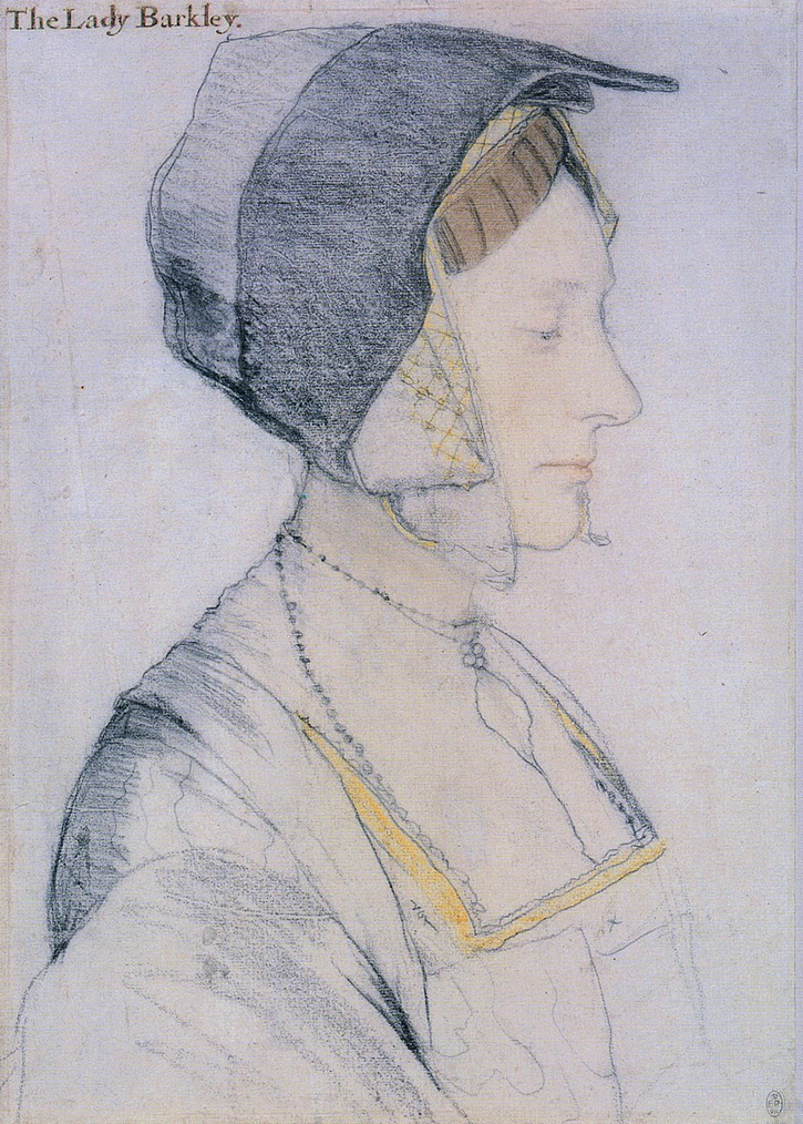 Elizabeth Dauncey by Hans Holbein the Younger (Royal Collection, Windsor Castle - Windsor, UK) From Peter's photostream on flickr