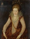 1608 Elizabeth d'Oyley aged 16 by Robert Peake (Norfolk Museums, Norfolk UK)