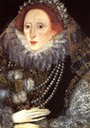 Elizabeth I with a fan by ? (Royal Collection)