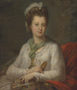 Elizabeth Kerr (1745-1780), née Fortescue, Marchioness of Lothian, by Angelica Kauffman (auctioned by Christie's)