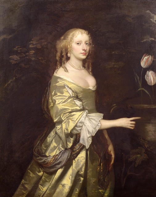 Elizabeth, Lady Wilbraham, née Mytton by Sir Peter Lely (Weston Park - Weston-under-Lizard, Staffordshire, UK) From g1b2i3.wordpress.com/2010/09/14/sir-peter-lely-14-septembrie-1618-–-30-noiembrie-1680-pictor-olandez/.jpg