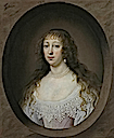 1632 Elizabeth Tryon, wife of John Huxley by Cornelis Jonson (or Johnson) van Ceulen (auctioned by Sotheby's)
