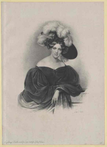 Emilie Gräfin Zichy-Ferraris by ? From www.europeana.eu