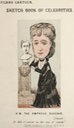 Cartoon about the losses suffered by Empress Eugenie