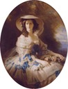 Empress Eugénie by studio of Franz Xaver Winterhalter (auctioned by Christie's)
