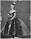 Empress Eugénie of France as Marie Antoinette From pinterest.com:JeffreyYoshida:second-empire-elegance: detint