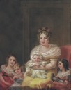 Empress Leopoldine and children by or after Failutti (location unknown to gogm) the lost gallery