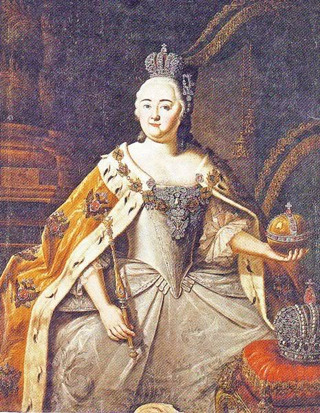 Empress Elizabeth by Alexey Antropov (Kiev Museum of Russian Art)