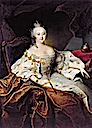 Empress Elizabeth by Georg Christoph Grooth (location unknown to gogm)