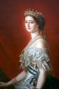 Empress Eugénie by Etienne Billet after Winterhalter (Marseille Naval Museum)