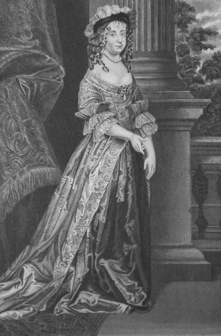 Engraving of the Duchess of Newcastle is in The Lives of William Cavendishe, Duke of Newcastle, and of his Wife, Margaret Cavendish, Duchess of Newcastle edited by Mark Anthony Lower From scalar.usc.edu detint