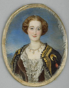 Eugénie vers 1853:57 by ? (Wallace Collection - London, UK) RMN X 1.5