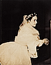 1856 Empress Eugénie portrait photograph by Gustave Le Gray