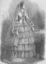 Empress Eugénie's wedding dress