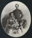 1858 (estimated) Print based on a color family portrait