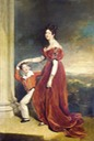 ca.1828 Frances Marchioness of Londonderry with her Son Lord Seaham by Sir Thomas Lawrence (private collection)