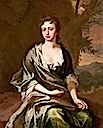 Frances Winchcombe by Michael Dahl (Lydiard House - Lydiard Tregoze, Swindon, Wiltshire UK)