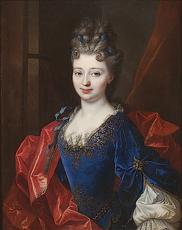 Françoise Marie de Bourbon by François de Troy studio (location unknown to gogm) Wm