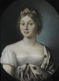 Friederike as Princess of Mecklenburg Strelitz by ? (location unknown to gogm) APFxthijs 10Oct05