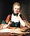 Gabrielle Emilie Le Tonnelier de Breteuil, Marquise du Chatelet by ? (location unknown to gogm)
