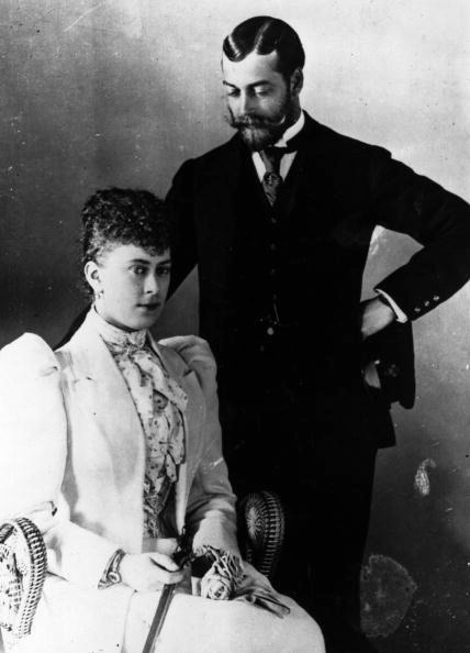 1893 George and May on their honeymoon FDxMinnie 13Feb09