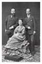 Prince of Wales Edward, Olga, and Georgios