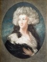 Georgiana Cavendish nee Spencer, Duchess of Devonshire by ? (location ?) From Pinterest search