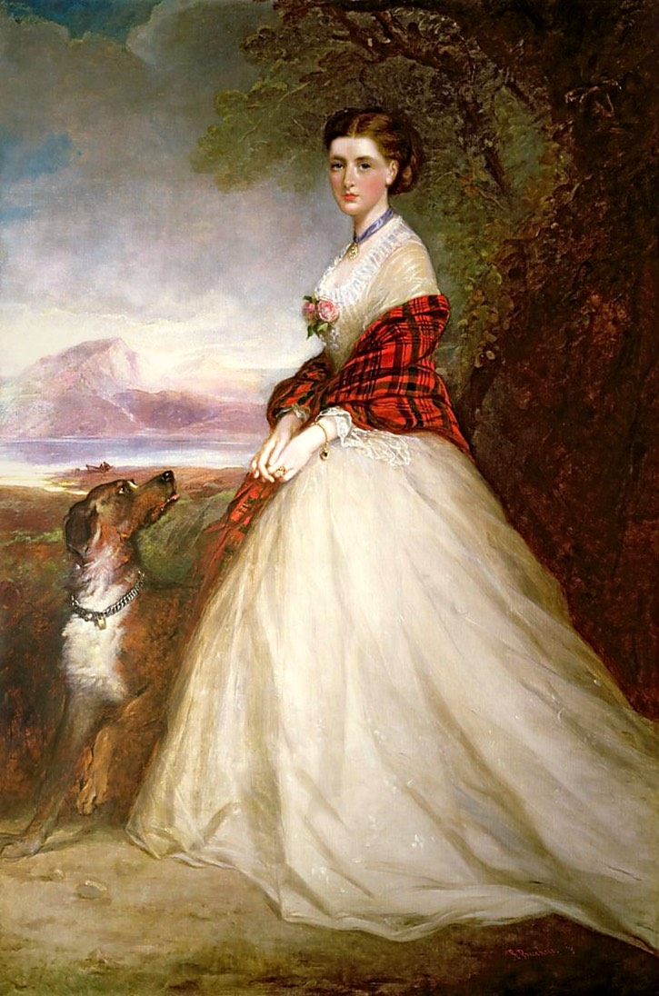 Gertrude Murray (Coke), Countess of Dunmore (1847 - 1943) by Richard Buckner (Collection of the Earl of Leicester - Holkham Hall, Norfolk, UK) UPGRADE From liveinternet.ru:users:4657722:post214372196