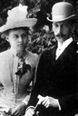 Grand Princess Alexandra Georgievna and Pavel Alexandrovitch