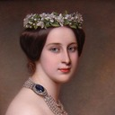 Grand Duchess Alexandra Iosifovna attributed to Joseph Karl Stieler (Leon Wilnitsky) face
