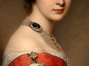 Grand Duchess Alexandra Iosifovna attributed to Joseph Karl Stieler (Leon Wilnitsky) necklace