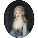 Elizabeth Alexeievna by Augustin Christian Ritt (auctioned)
